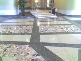 Image of: Simple Terrazzo Flooring