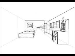 bedroom drawing one point perspective. Simple Perspective How TO Design One Point Perspective Room Tutorial HD And Bedroom Drawing P