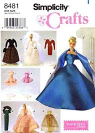 Barbie Doll Clothes Patterns Amazing Amazon Simplicity Barbie Doll Clothing Patterns Crafts Sewing