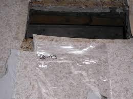 terrazzo flooring below sheet vinyl vinyl