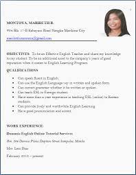 Resume Format For Freshers Job Application Letter Sample For Format