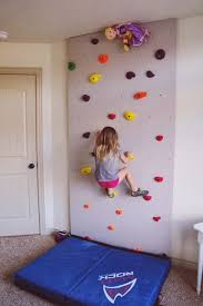 cool basement ideas for kids. Rock Wall For Kids Play Room - How Fun! But Outside I Think. BasementBasement AreaCool Basement IdeasKids Cool Ideas