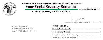 My Social Security Table Contents GIF