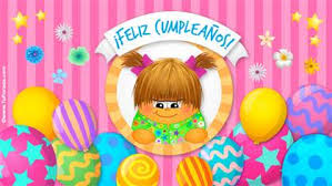 Tarjetas De Cumpleanos De Ninas Tarjetas De Cumpleaños Para Niñas Postales De Cumpleaños