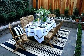 x outdoor rug patio traditional with black and white brick for outside area rugs round target