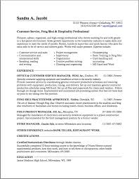 Gallery Of Career Change Resume Templates