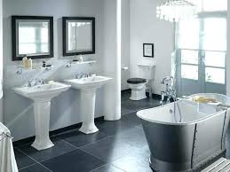 Image Charcoal Grey Small Bathroom Grey Tiles Grey Tile Bathroom Ideas Inspirations White And Gray Tile Bathroom This Design Davidperrineinfo Small Bathroom Grey Tiles Davidperrineinfo