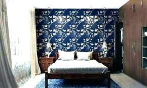 accent walls ideas bedroom wall for wallpaper idea printed red bedr accent walls ideas bedroom