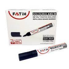 FATIH 34355 Doldurulabilir Siyah Tahta Kalemi - 12'li Paket Fiyatı ve  Özellikleri - GittiGidiyor