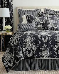 black toile bedding. Delighful Bedding Amazing Picture Of Blue And White Bedding Trends Ideas Black Toile Bedspread Inside Black Toile Bedding W