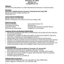 Customer Service Associate Job Description Resume