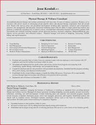 Nursing Resume Objective Statement New Tips Physical Therapist ...