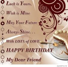 Happy Birthday Bff Quotes Best Of Image Of Wishing Best Friend Happy Delectable Good Birthday Quotes