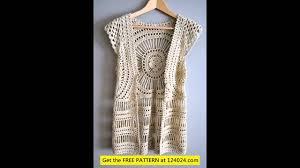 Free Crochet Vest Patterns New Easy Crochet Vest Pattern YouTube