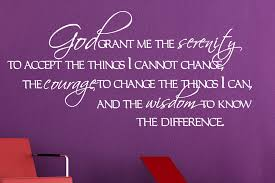 Serenity Quotes Interesting God Grant Me The Serenity48 Wall Decal Quotes Christian Wall