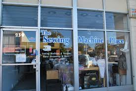 Store With Sewing Machines In Window