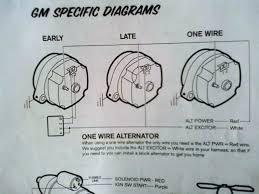 Gm Alternator Schematic Wiring Diagrams