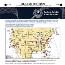 St Louis Sectional Chart Vfr St Louis Sectional Chart