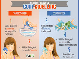 how to get rid of gum pain at home
