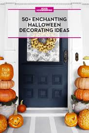 60+ Cute DIY Halloween Decorating Ideas 2017   Easy Halloween House  Decorations