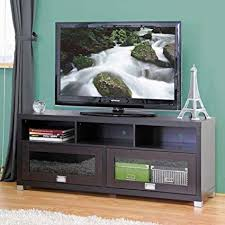 Tv studio furniture Design Requirement Image Unavailable Rise Realty Amazoncom Baxton Studio Swindon Modern Tv Stand With Glass Doors