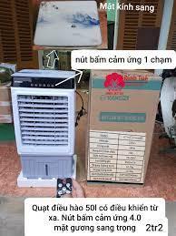 Quạt điều hòa Yangzi 50l cảm ứng một... - Quạt điều hòa cảm ứng có điều  khiển giá rẻ toàn quốc