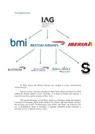 British Airways Organisational Chart Case Study British Airways
