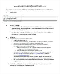 Business Proposal Template New Business Proposal Template 9 Product