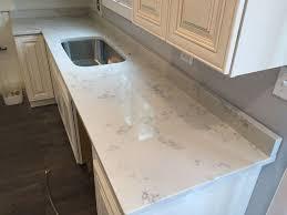 carrara marble quartz countertop