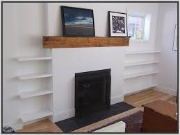 floating shelves around fireplace exactly what i m talking about