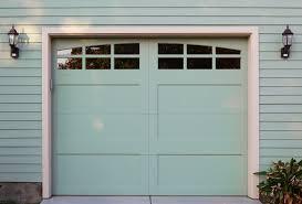 installing a garage door with windows