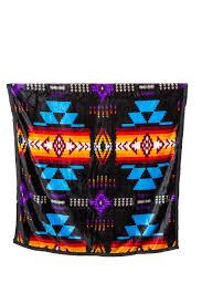 Native Design Blankets Traditional Native Design Reversible Blanket King