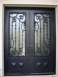 iron front doorsAdorable Wrought Iron Front Doors Ideas Painting Curtain Or Other