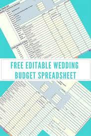 Sample Wedding Budget Spreadsheet Wedding Package Wedding Budget Spreadsheet For Wedding