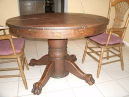 value of antique oak tiger claw dining table annie oakley 5 years ago on
