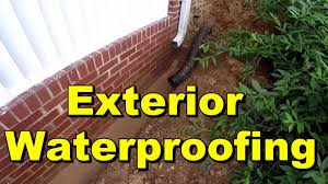Exterior Waterproofing Seal Wall With Liquid Rubber YouTube - Exterior waterproof sealant