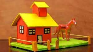 How To Make House With Chart Paper How To Make A Paper House