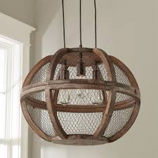 rustic wooden wrought iron chandeliers shades of light