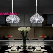 crystal pendant lighting for kitchen. 1 light new modern elegant led crystal pendant lamp kitchen bar ceiling lighting for m