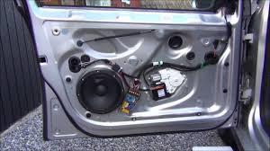 front door speaker change golf mk5 8 kit