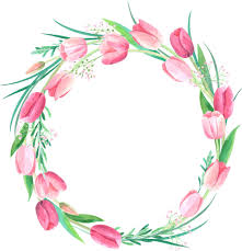 Floral Borders For Word Wreath Watercolor Floral Watercolor Flower Frame