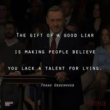 tv quotes. houseofcardsquotes: follow us for more house of cards quotes #houseofcards #frank #underhood tv