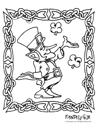 Small Picture Leprechaun Coloring Page 2 Woo Jr Kids Activities