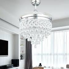 pleasing crystal chandelier fan t5008568 crystal chandelier fan combo