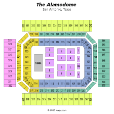 Alamodome Ncaa Basketball Seating Chart Alamodome Concert And Event Schedule Venue History