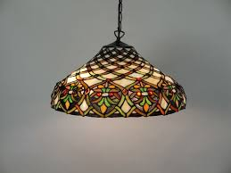 gallery of stained glass light fixtures
