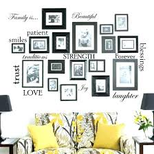 family frames wall decor choice image home design stickers tree picture frame ideas