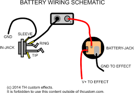 switching mechanical switches standard wiring diagrams th th custom effects battery wiring