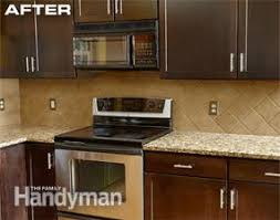 cabinet refacing family handyman