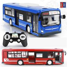 2018 new 2 4g remote control bus car charging electric open door rc car model toys for children gifts rc16 2 remote control specials